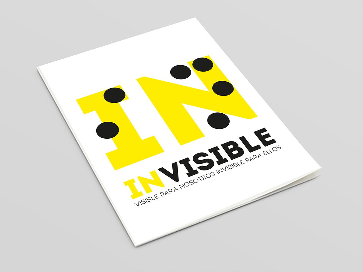Invisible folleto