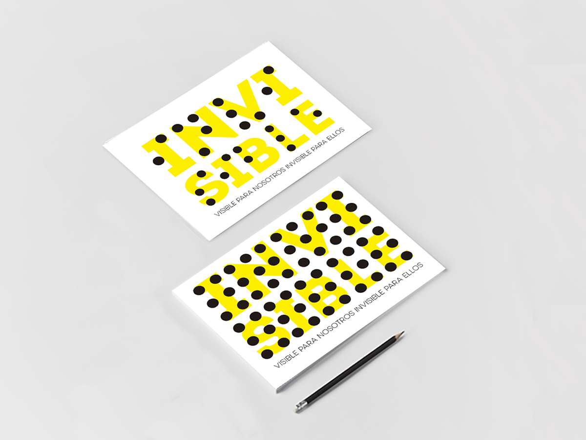 Invisible tarjeta